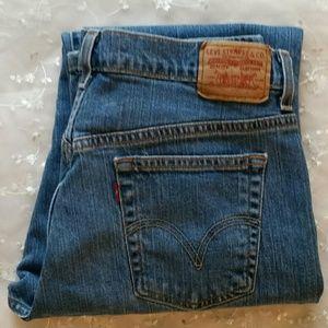 Levis 505 Straight Leg Jeans (size) 12 L